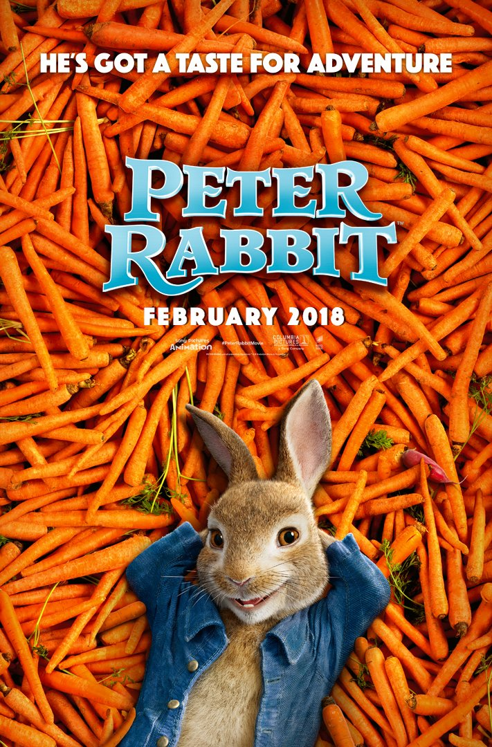 3D: Peter Rabbit