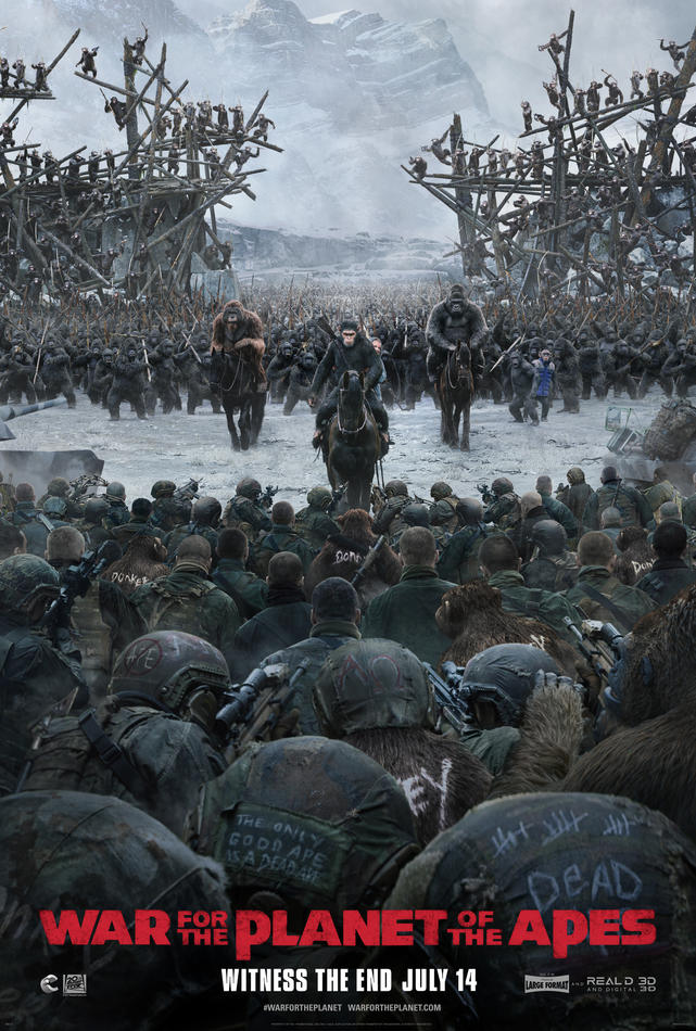3D: War for the Planet of the Apes