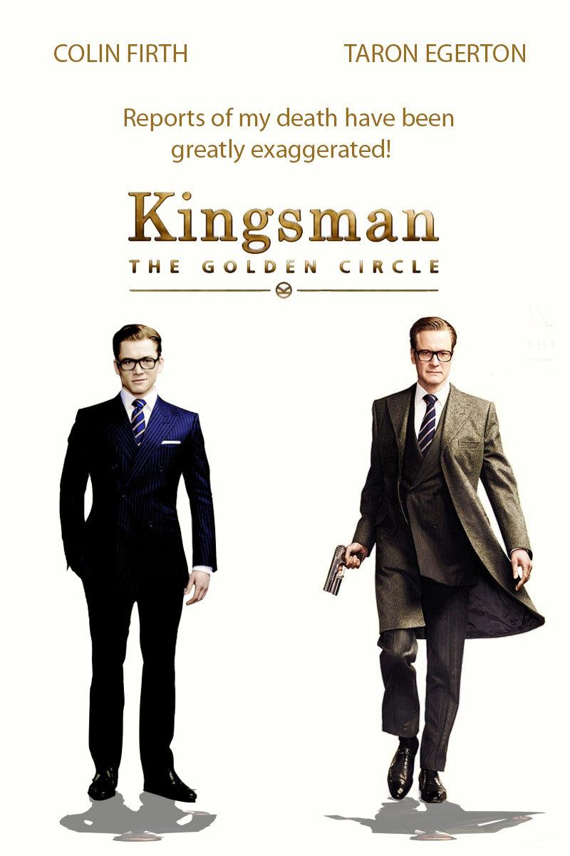3D: Kingsman: The Golden Circle
