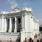 Gaddi Durbar Basantapur with Chir