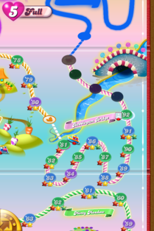 candy crush life step 5