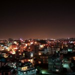 Kathmandu Valley at Night
